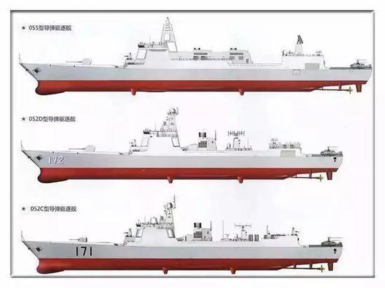 中国055大驱落后了?美将造2万吨超级巨舰配更多垂发