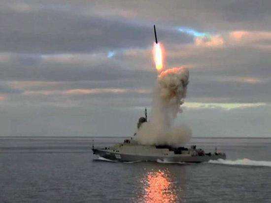 """""""口径""""巡航导弹让俄军800吨级的轻型护卫舰也拥有兴旺的抨击火力。"""