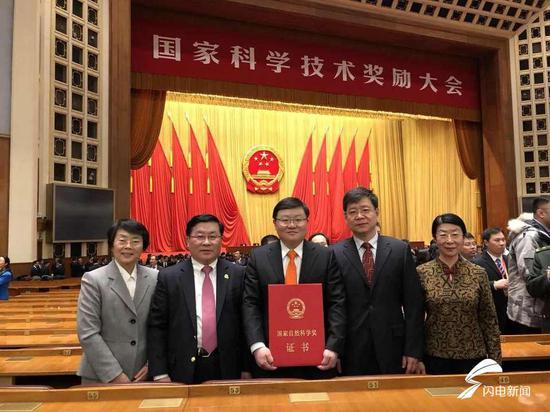 张澄所在团队获得国家自然科学奖二等奖