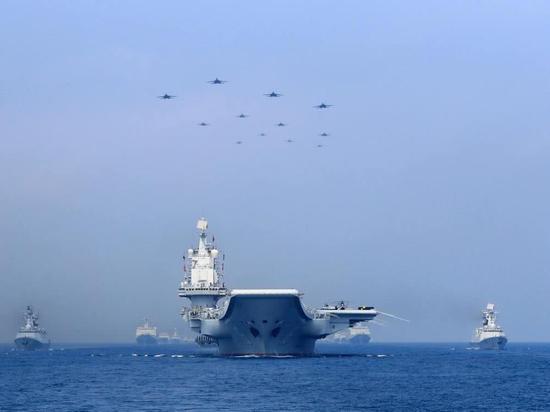 海军70周年阅兵,非常壮观!