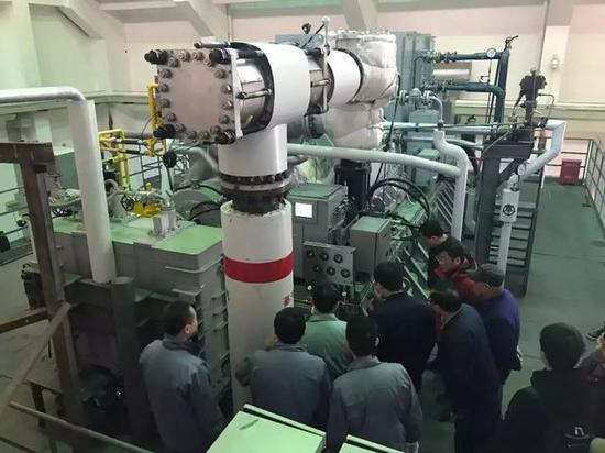 中国船舶704所船用20MW级汽轮发电机组获得应用