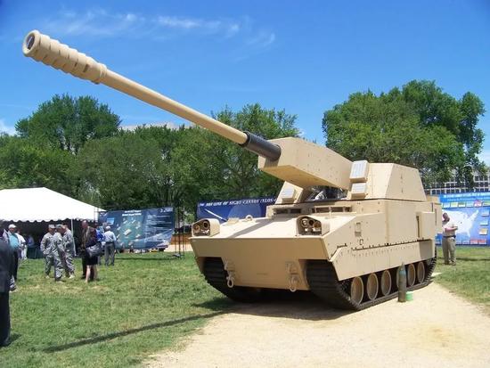 美新型M109火炮采用58倍径超长炮管 真比中国领先?