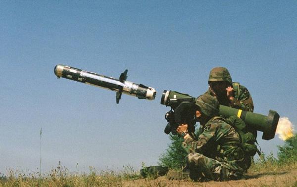 美军逆坦克导弹。 网络图