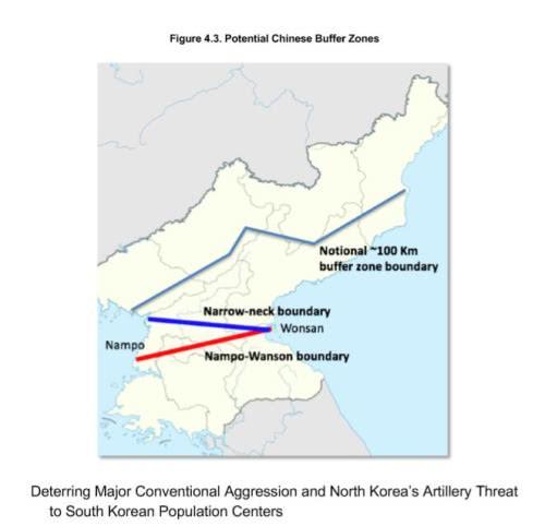 """看这个图""""中国军队进入朝鲜的主要目的只是保护鸭绿江上的水电设施,会在朝鲜北方建立一条狭窄的安全地带……""""是不是麦克阿瑟又回到了东京的感觉?"""