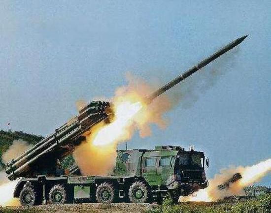 03式火箭炮进走了多次改进