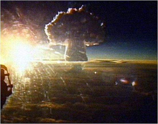 史上威力最大的炸弹,爆炸功率达太阳的1.4%