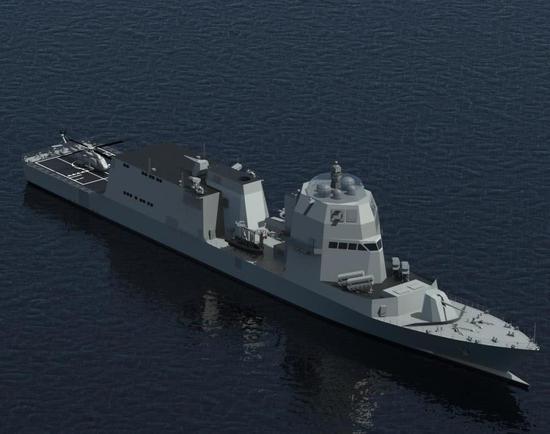 图片:PPA护卫舰想象图