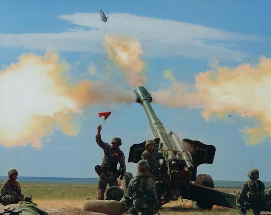 我军曾从俄罗斯进口制导炮弹 30发29中震慑