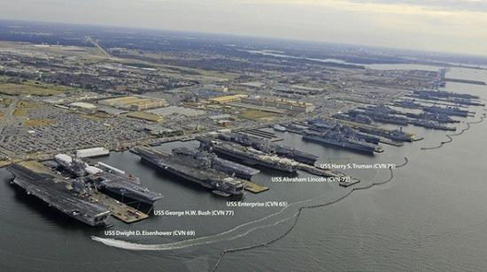 中国几艘航?_川普要将美航母增加至12艘 中国需用6艘航母应对威胁