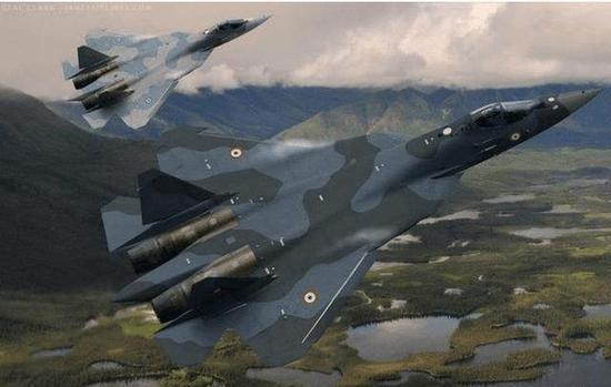 俄印在T-50基础上研发的FGFA
