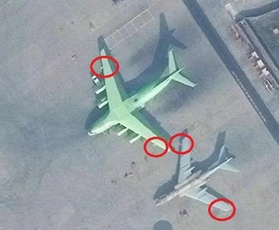 2周前披露的轰油-20与轰油-6同框