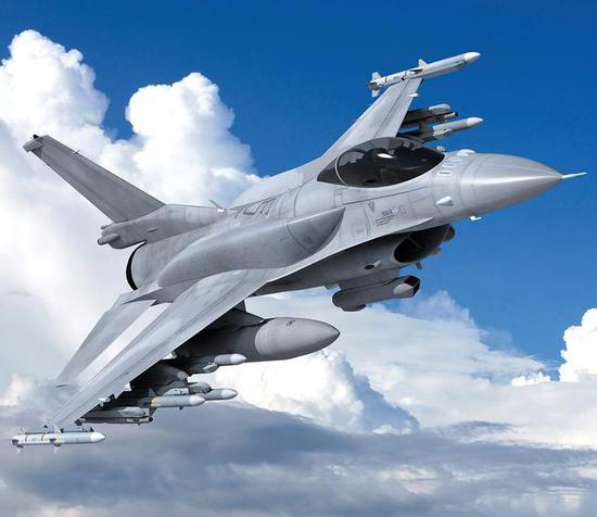 ▲洛马的F-16 Block70想象图(洛马图片)
