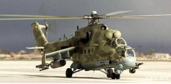 """米-24D""""母鹿""""武装直升机,伊拉克军队现在还在使用"""