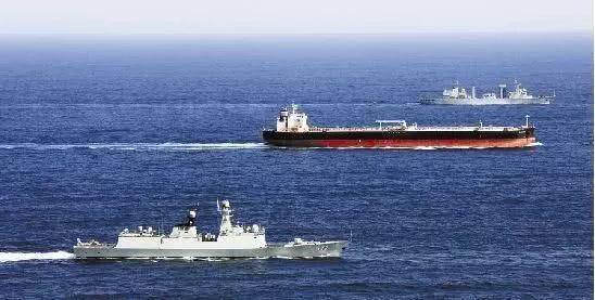 海军护航的战略意义会逐渐展现出来