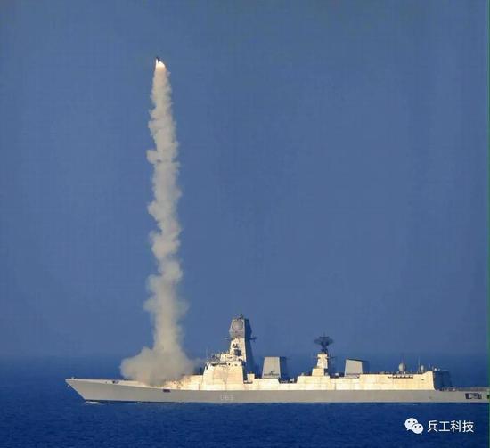 加尔各答级驱逐舰_印度海军试射增程型布拉莫斯导弹 射程或超过450公里|布拉莫斯 ...