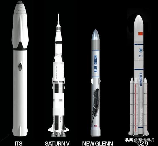 计划2030年首飞的长征9号运载火箭