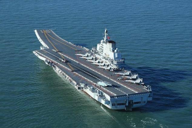 资料图:中国海军航母辽宁舰