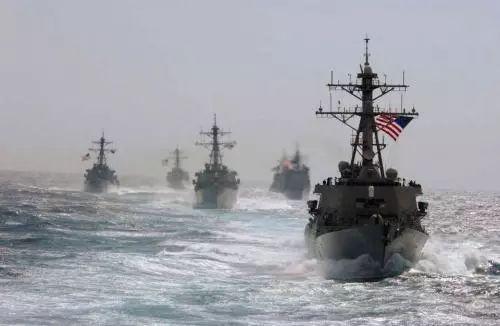 """美海军哭穷达新高度编造""""中国有650艘军舰"""""""