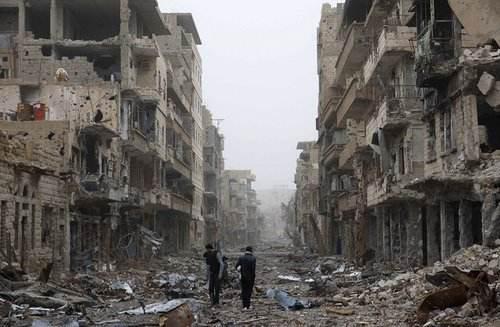 敘政府軍奪回這一重鎮后 俄派出軍警保障當地安全
