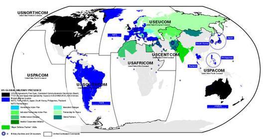 图3 美军必要更多钱来保持全球军事存在