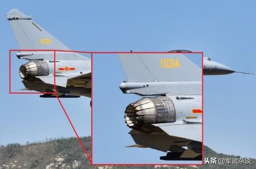 轴对称矢量推力发动机喷口清淡外露