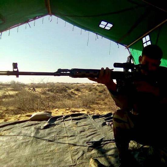 印度拟魔改俄SVD狙击枪 称俄罗斯人将为此感到高兴