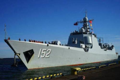 052C型驱逐舰152济南舰