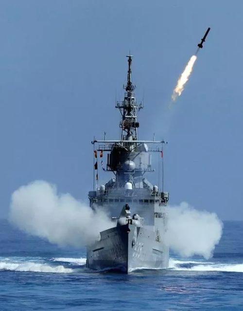 ▲济阳级在90年代初就是作为增强台军反潜力量而引进的