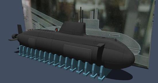 ▲096型战略核潜艇