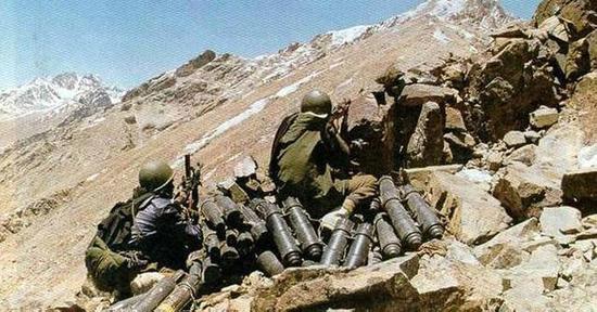 卡吉尔冲突中的印度士兵