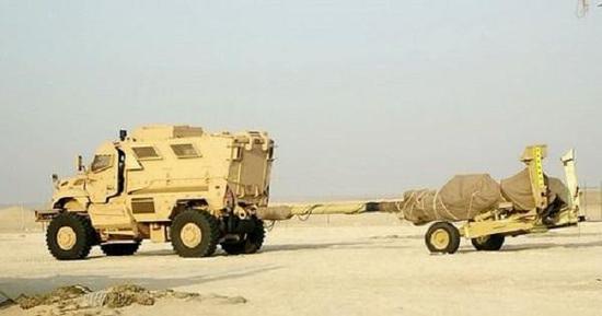 据说在阿联酋测试的国产AH-4型超轻型155毫米榴炮