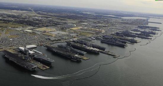 (固然周围不如美国海军,但这足以已足中国的战略需求)