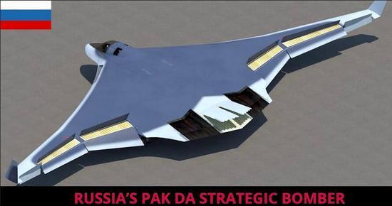 俄罗斯隐身轰炸机设想图