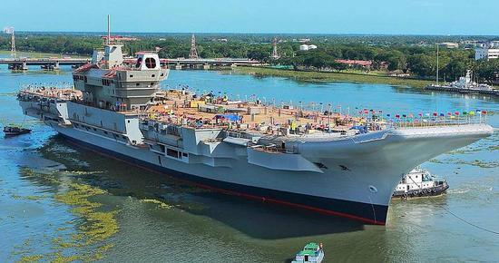 慢工出细活?印度签署国产航母第三阶段建造合同