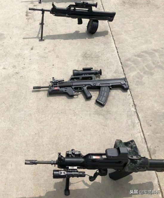官曝新型步枪系统创新团队 图纸显示新步枪或已定型