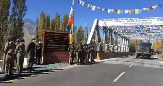 印度宣布在边境开通44座桥梁 可承载阿琼坦克