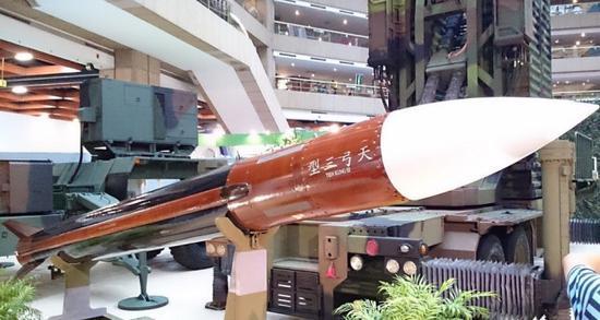 原料图:台军天弓三型防空导弹