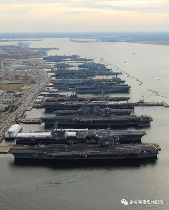 天下海军B有一石,美军独占八斗