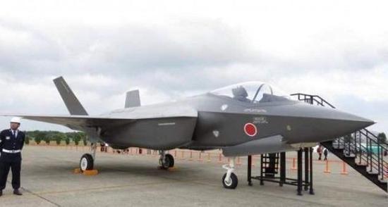 日本生产的F-35A战斗机