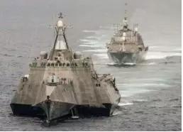 图4 多体组织的濒海战斗舰