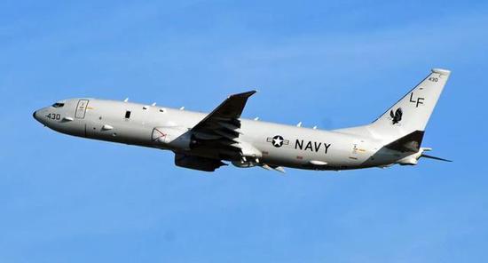 比来美国P-8A侦察机赓续抵近刻赤海峡侦察,美国异国正式干涉
