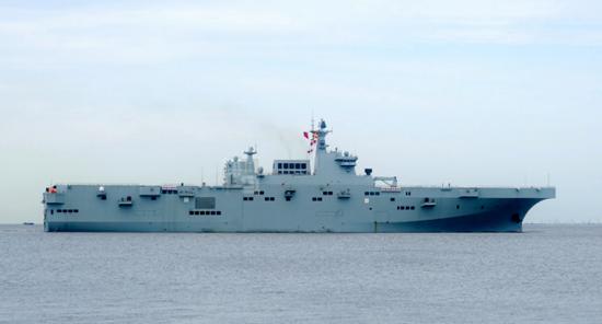 美媒关注中国075两栖攻击舰首次海试:进度快得惊人插图