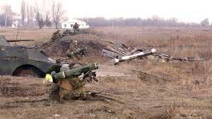"""乌克兰军队使用""""标枪""""导弹"""