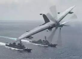 图6 TERN计划垂直首降无人机