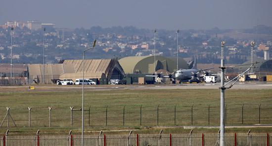 土耳其因吉爾利克空軍基地資料圖。