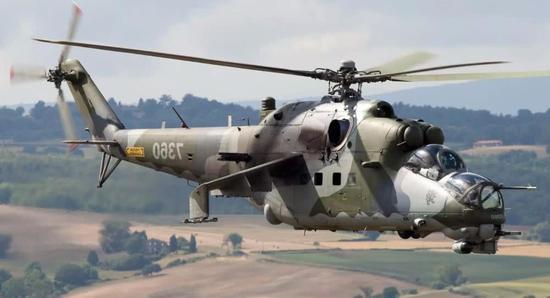 俄罗斯米-24直升机,作战效率非常高,畅销全世界