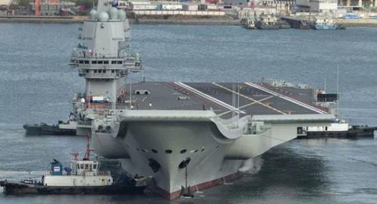 美智库报告:中国明年将开工建造第4艘航母
