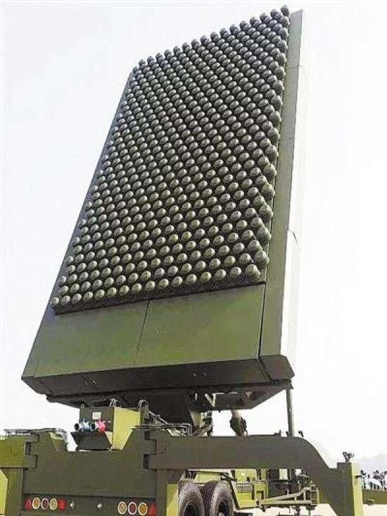 中国JY-26型米波逆隐身相控阵雷达