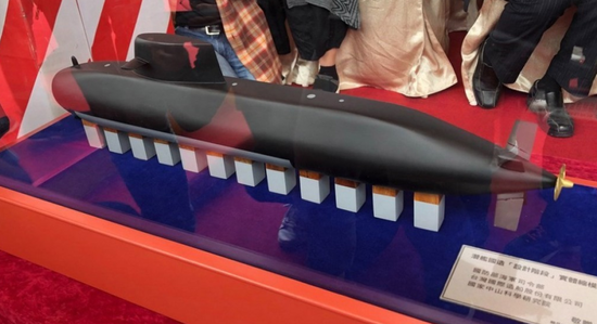 台湾宣称首艘自造潜艇5年后下水 吹嘘可吓阻大陆