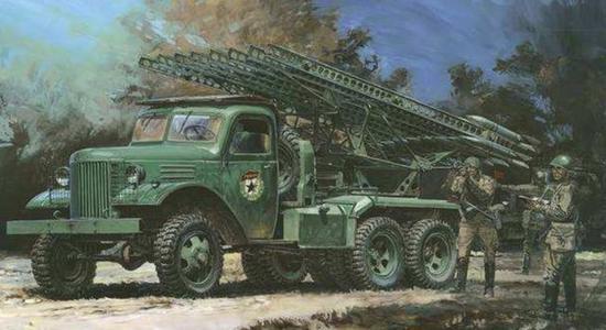 喀秋莎火箭炮